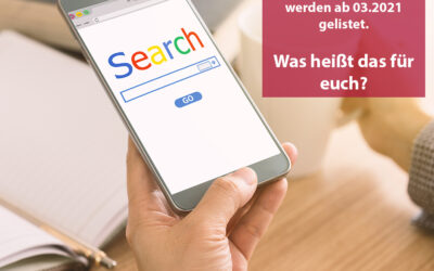 Mobile First Indexierung