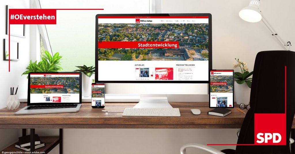 Neue Webseite für die SPD Oer-Erkenschwick