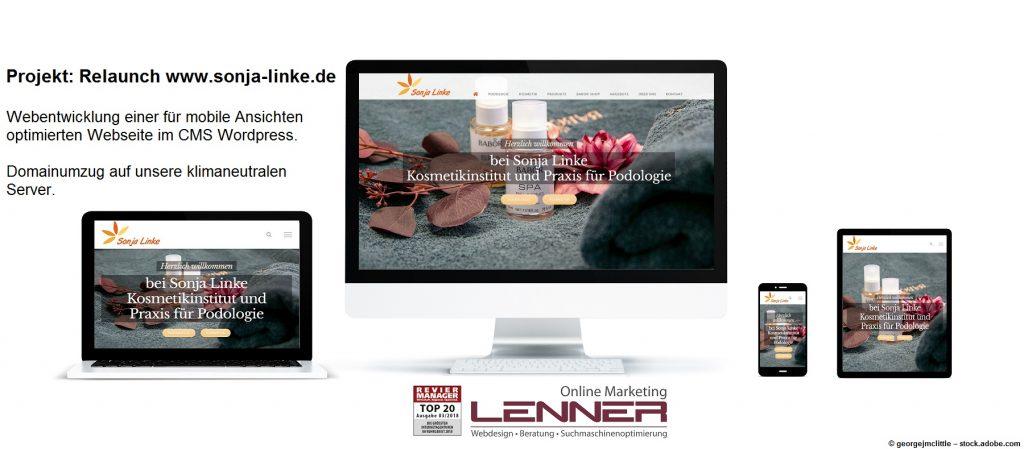Relaunch geglückt – sonja-linke.de ist online