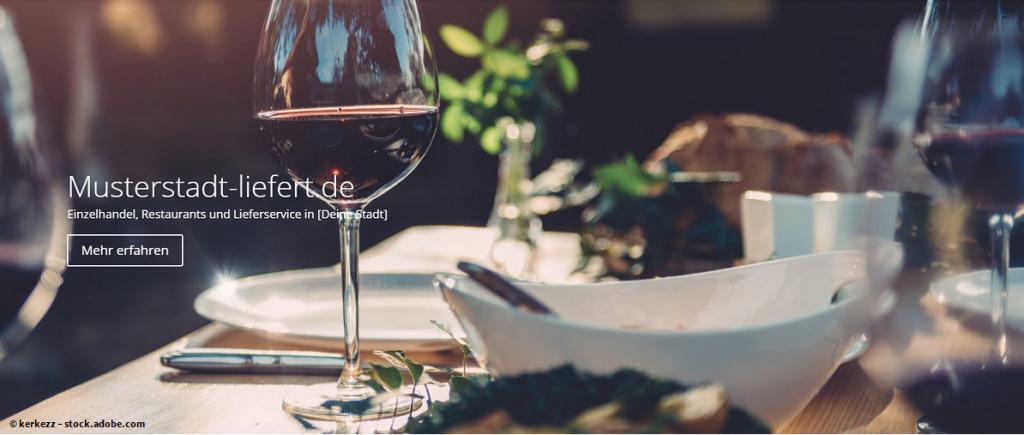 Musterstadt-liefert.de – das 100 % lokale Portal für Restaurants & Händler vor Ort