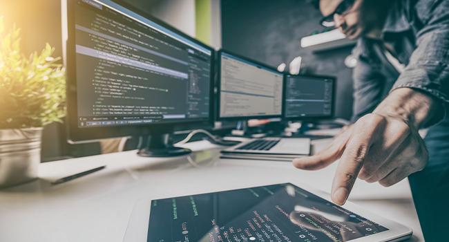 Programmierer bei der Webprogrammierung Agentur in Recklinghausen im Ruhrgebiet