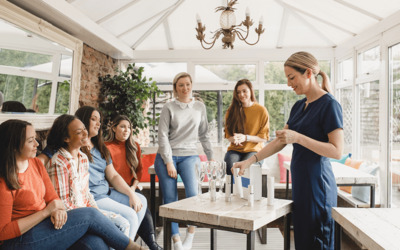 Online-Partys statt Verkaufspartys zu Hause