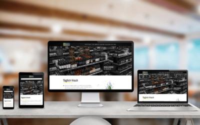 EDEKA Zierles – Relaunch der Webseite